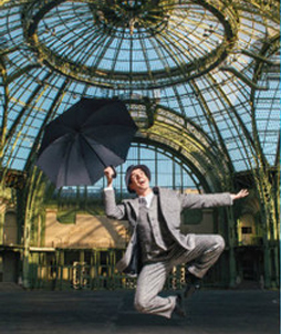 Partenariat Signin in the rain au Grand Palais