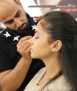 Oriental Makeup Training Make Up For Ever Academy Programs